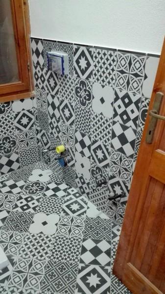 Sala bagno allestimento